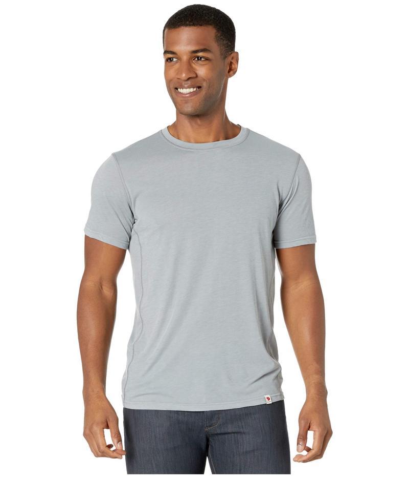 フェールラーベン メンズ シャツ トップス High Coast Lite T-Shirt Shark Grey