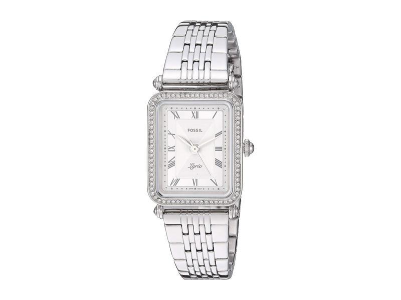 フォッシル レディース 腕時計 アクセサリー Lyric Three-Hand Watch ES4721 Silver S