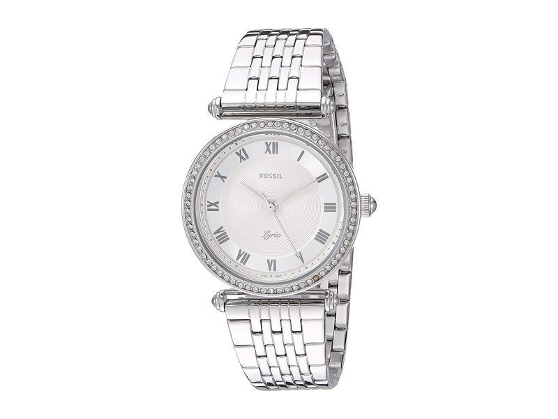 フォッシル レディース 腕時計 アクセサリー Lyric Three-Hand Watch ES4712 Silver S