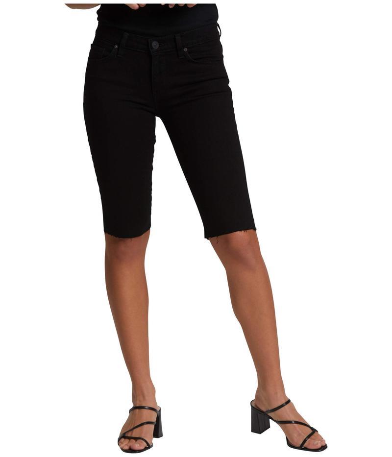 ハドソンジーンズ レディース ハーフパンツ・ショーツ ボトムス Amelia Cutoffs Knee Shorts in Black Black