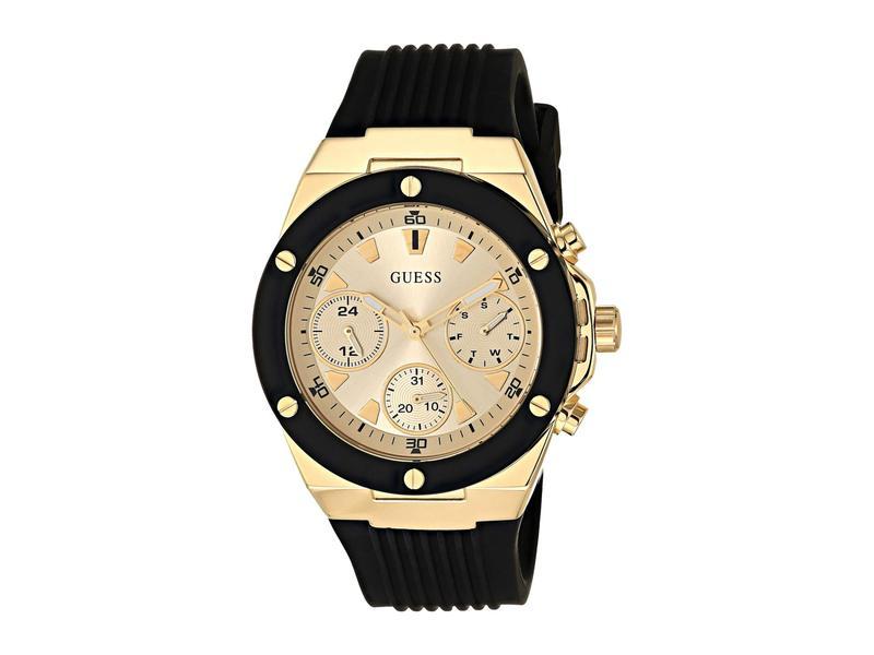 ゲス レディース 腕時計 アクセサリー GW0030L2 Black/Gunmetal