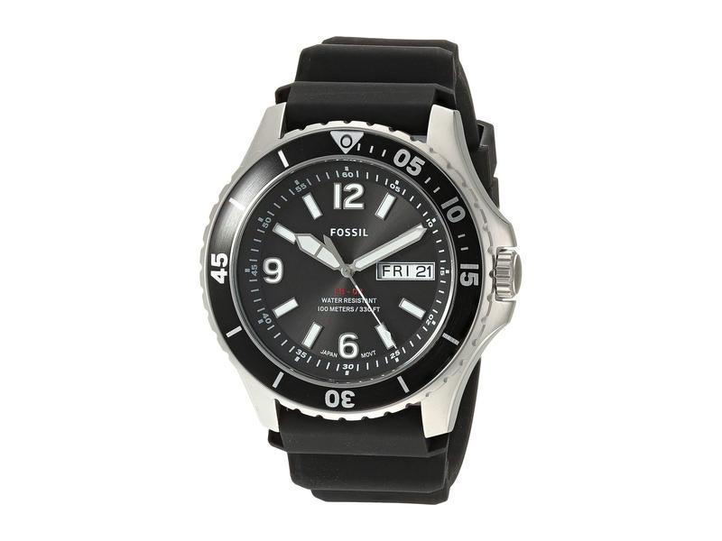 フォッシル メンズ 腕時計 アクセサリー FB-02 Three-Hand Date Men's Watch FS5689 Black Si