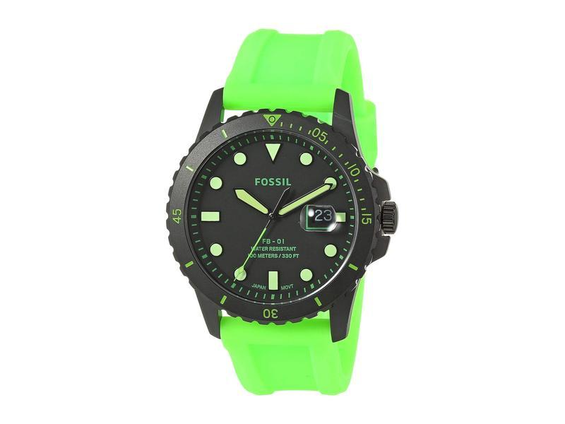 フォッシル メンズ 腕時計 アクセサリー FB-01 Three-Hand Date Men's Watch FS5683 Black Ne
