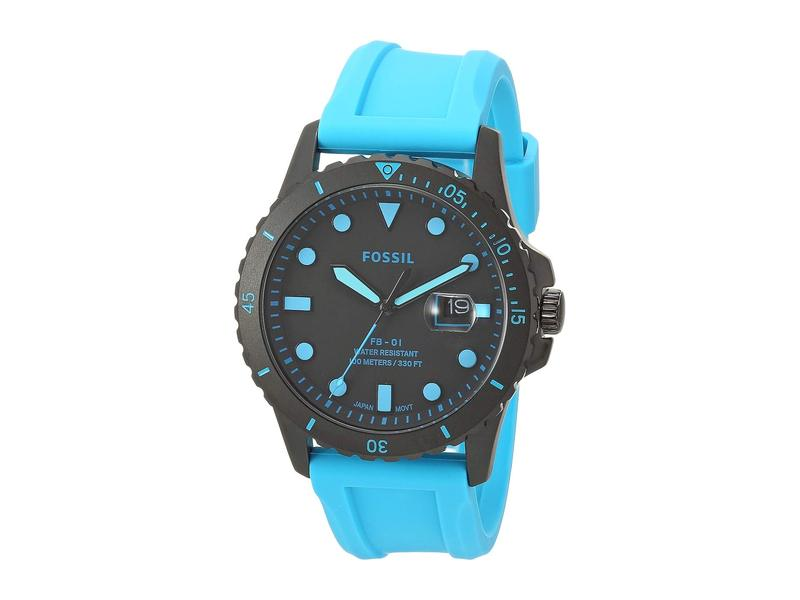 フォッシル メンズ 腕時計 アクセサリー FB-01 Three-Hand Date Men's Watch FS5682 Black Ne