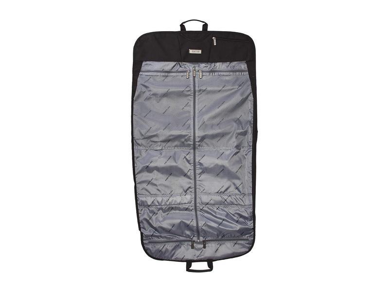 ケネスコール メンズ ボストンバッグ バッグ Polyester Folding Garment Sleeve Black