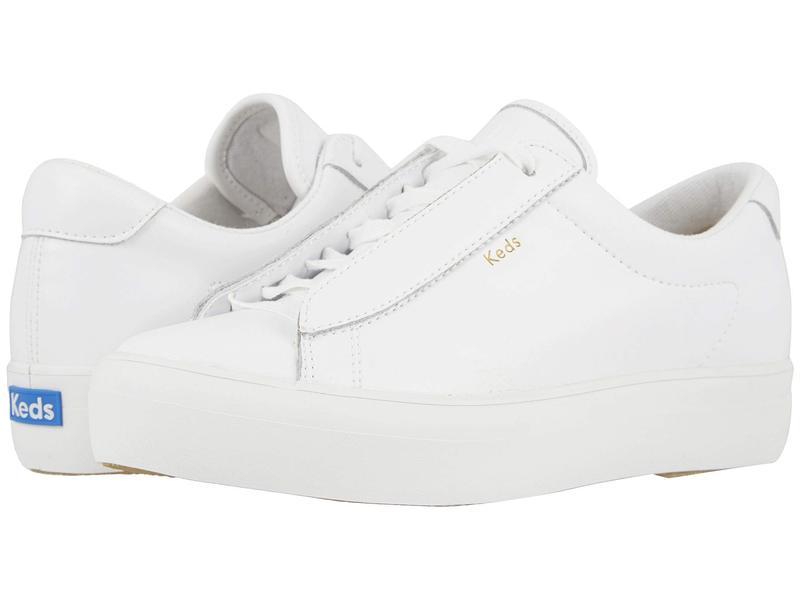 ケッズ レディース スニーカー シューズ Rise Metro Leather White Leather 2