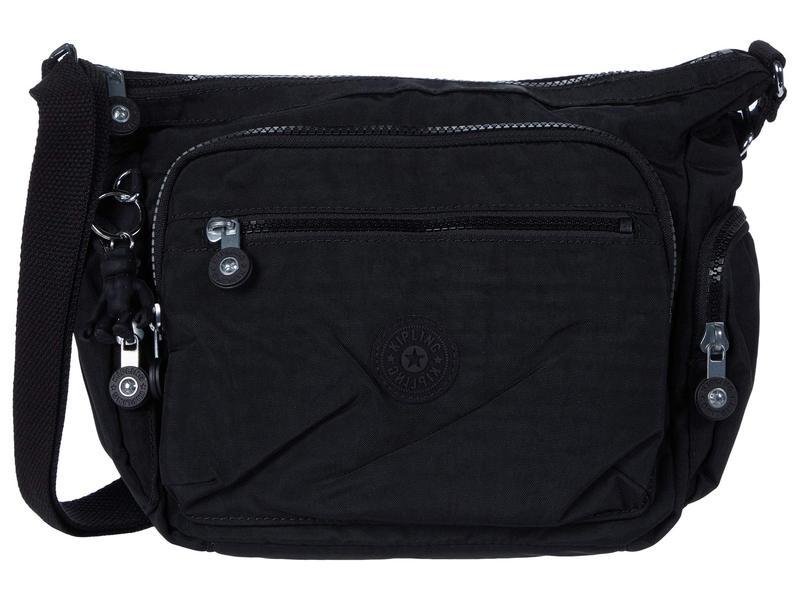 キプリング レディース ハンドバッグ バッグ Gabbie Small Crossbody Bag Black Noir
