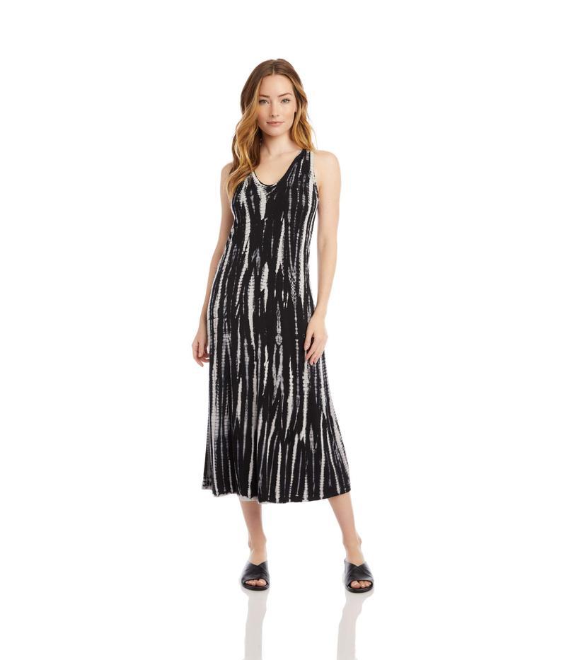 カレンケーン レディース ワンピース トップス Midi Dress Tie-Dye