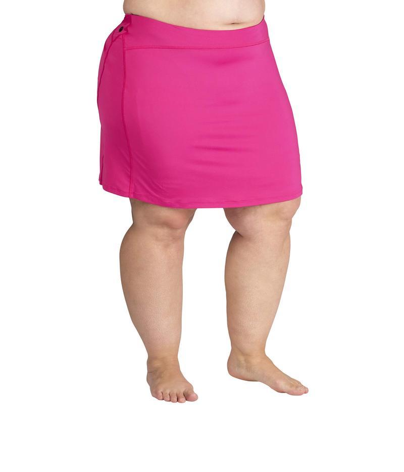 スカートスポーツ レディース スカート ボトムス Plus Size Happy Girl Skirt Fuchsia