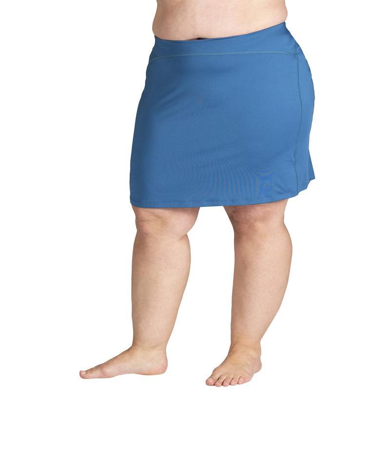 スカートスポーツ レディース スカート ボトムス Plus Size Happy Girl Skirt Lagoon Print