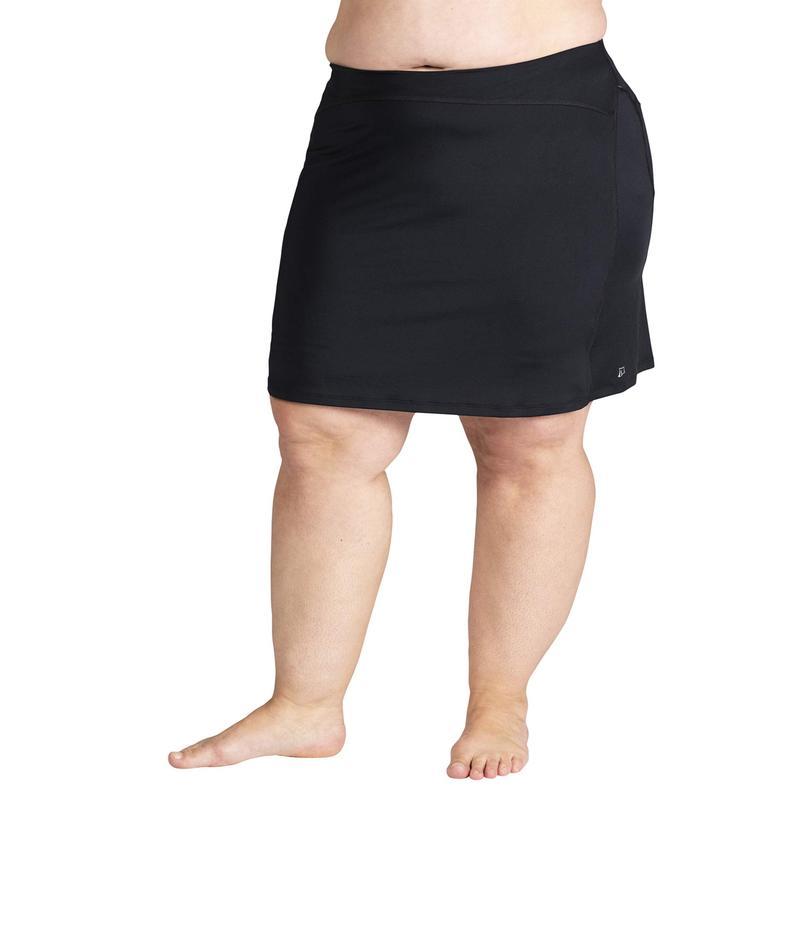 スカートスポーツ レディース スカート ボトムス Plus Size Happy Girl Skirt Black