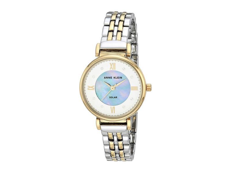 アンクライン レディース 腕時計 アクセサリー Solar Watch Two-Tone
