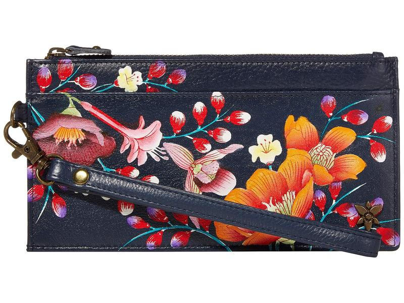 アヌスカ レディース 財布 アクセサリー Organizer Credit Card Wristlet Wallet - 1151 Moonlit Meadow