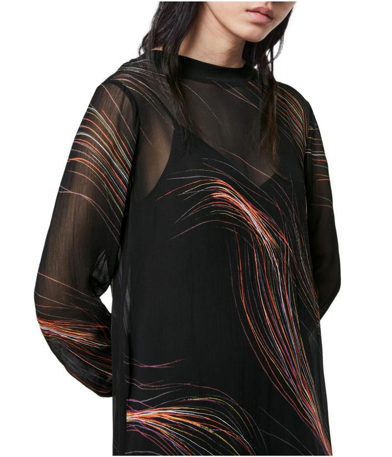 オールセインツ レディース ワンピース トップス Ada Streamline Dress Black