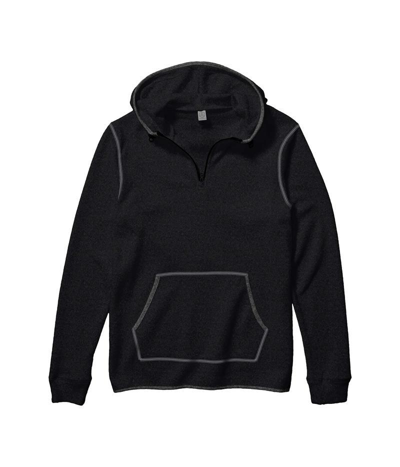 送料無料 サイズ交換無料 人気ブランド オルタナティヴ メンズ アウター パーカー スウェット Eco Zip G Black 4 Eco-Teddy 限定品 Outdoor Hoodie 1