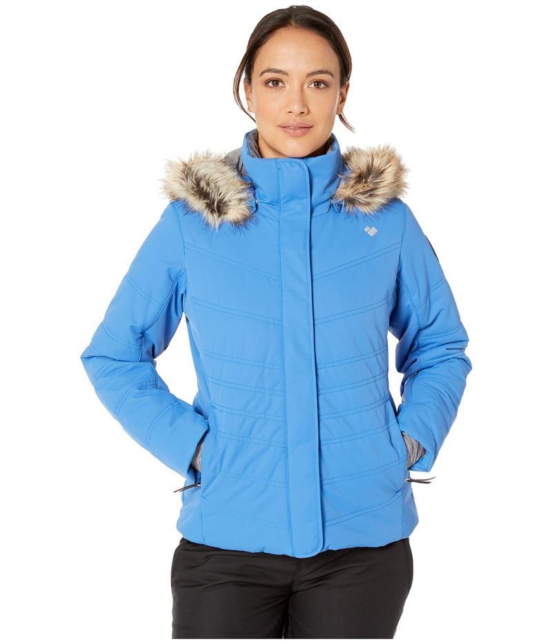 オバマイヤー レディース コート アウター Petite Tuscany II Jacket Azure