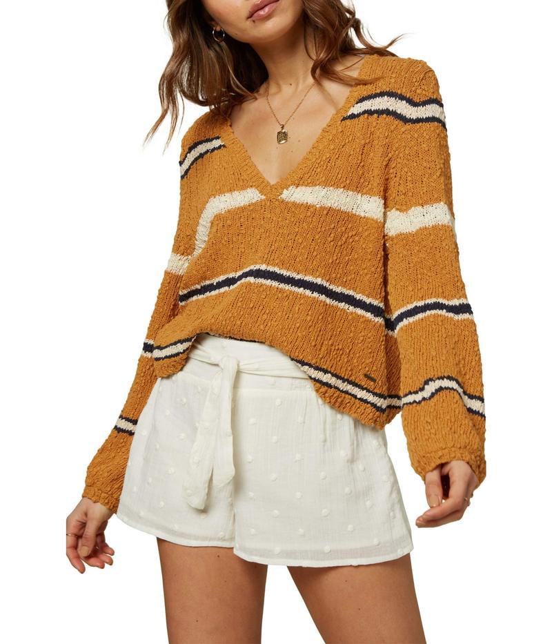オニール レディース ニット・セーター アウター Shores Sweater Spruce Yellow