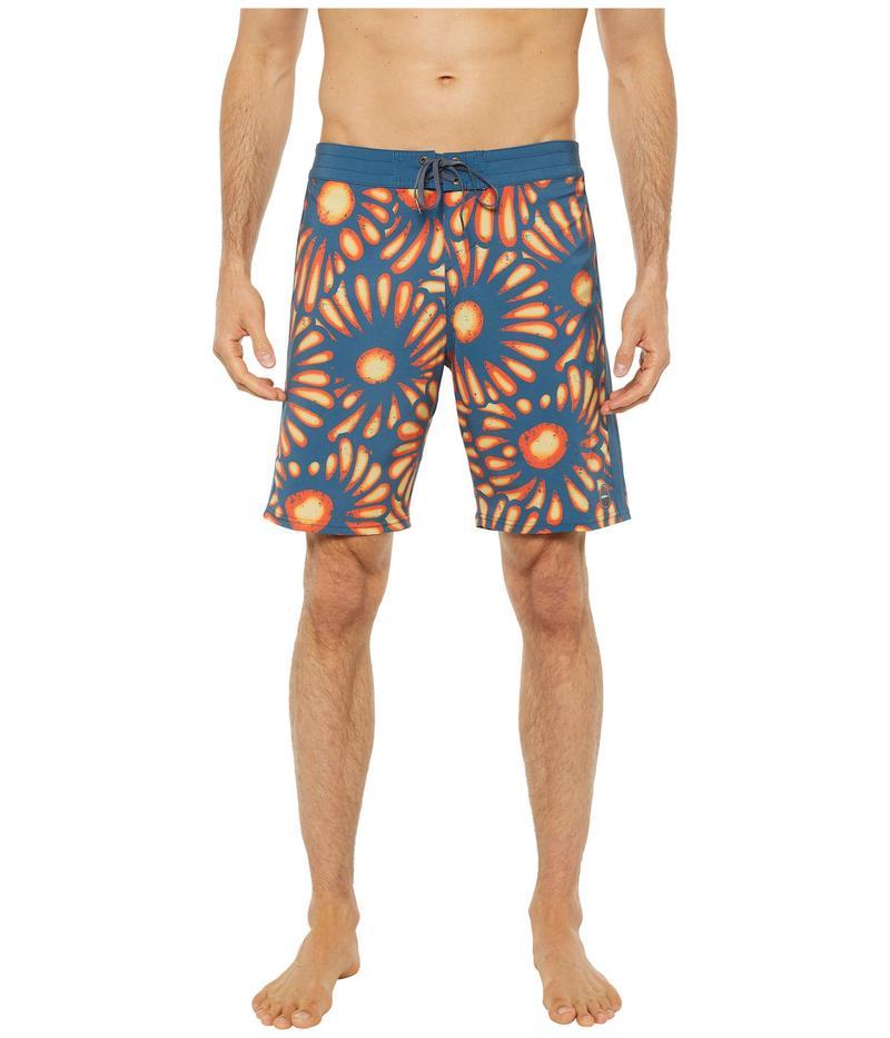 オニール メンズ ハーフパンツ・ショーツ 水着 Hyperfreak Sunburst Boardshorts Slate