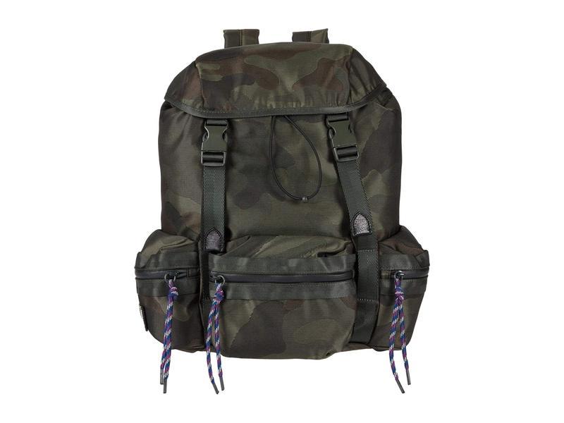 レベッカミンコフ レディース バックパック・リュックサック バッグ Downtown Nylon Backpack Military Camo