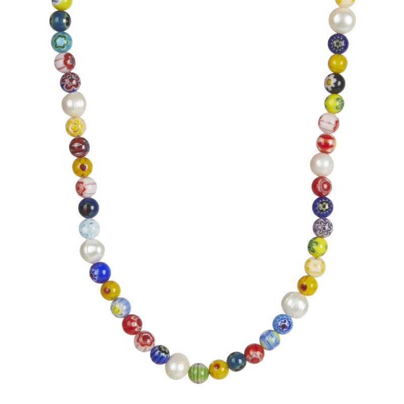 レベッカミンコフ レディース ネックレス・チョーカー・ペンダントトップ アクセサリー Rainbow Bead Collar Necklace Multi