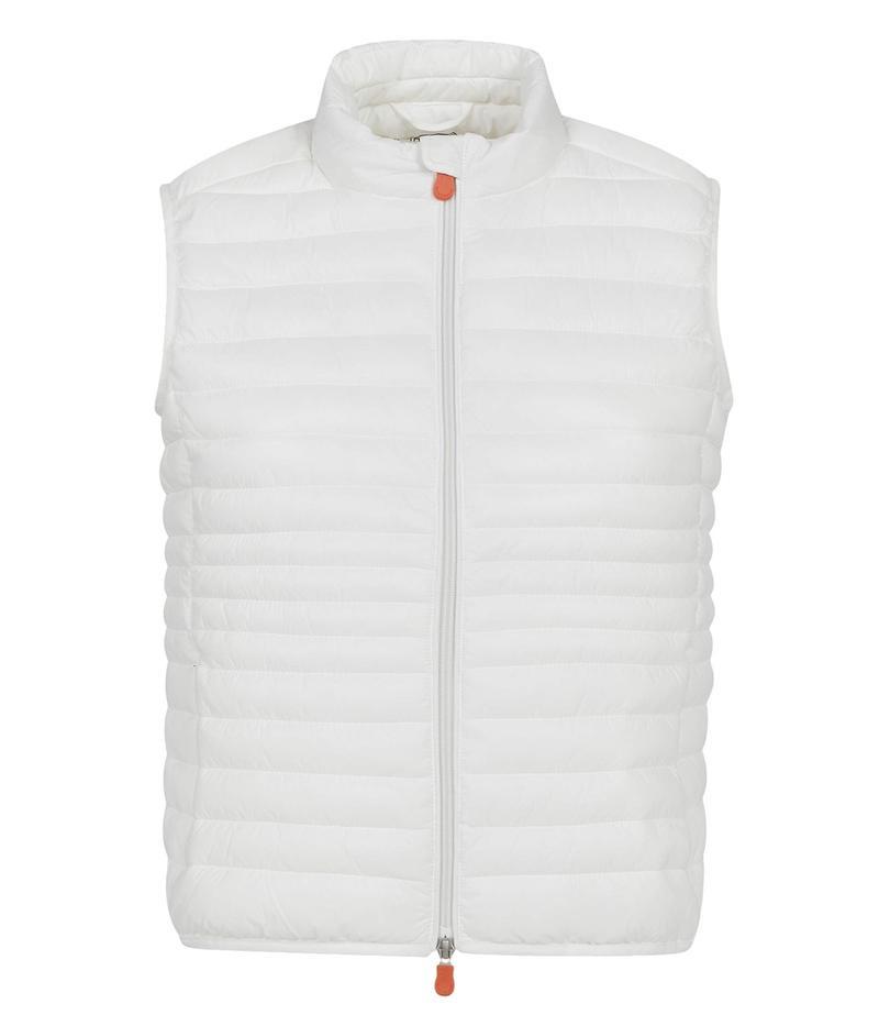 セイブ ザ ダック レディース コート アウター Giga X Vest Coconut White