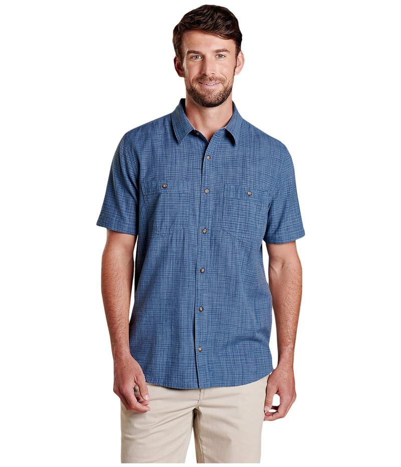 ドード アンドコー メンズ シャツ トップス Smythy S/S Shirt High Tide