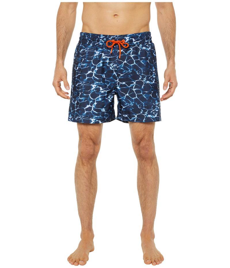 スウィムス メンズ ハーフパンツ・ショーツ 水着 Breeze Oahu Pool Print Swim Shorts Multi