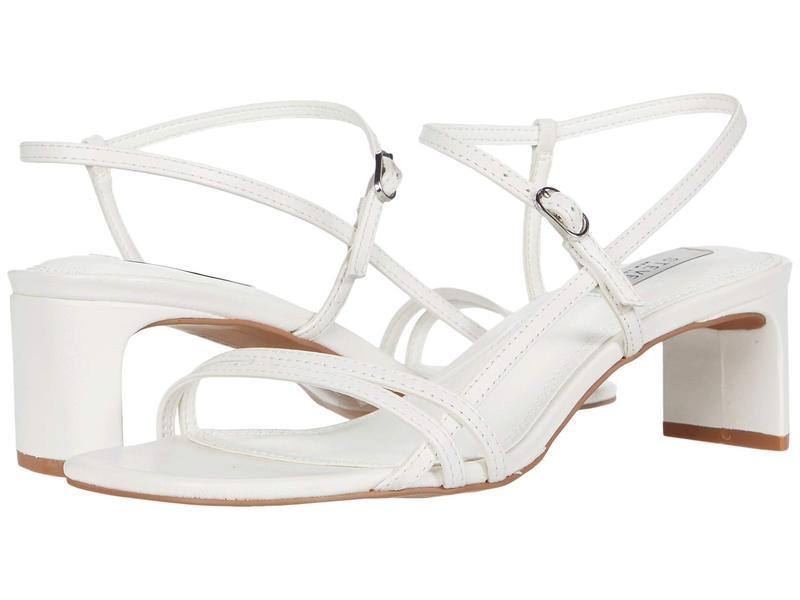 スティーブン ニューヨーク レディース ヒール シューズ Oceana White Leather