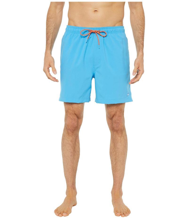 サウザーンタイド メンズ ハーフパンツ・ショーツ 水着 Solid Swim Trunks Malibu Blue