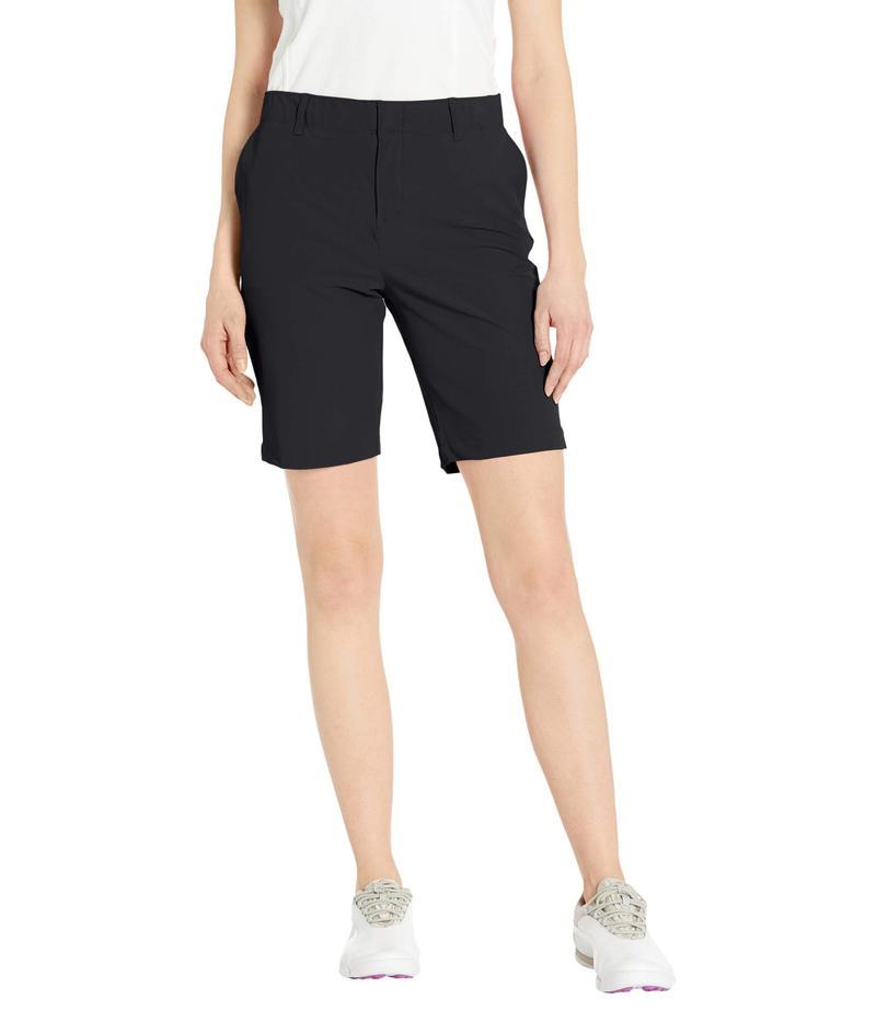アンダーアーマー レディース ハーフパンツ・ショーツ ボトムス Links Shorts Black/Mod Gray/