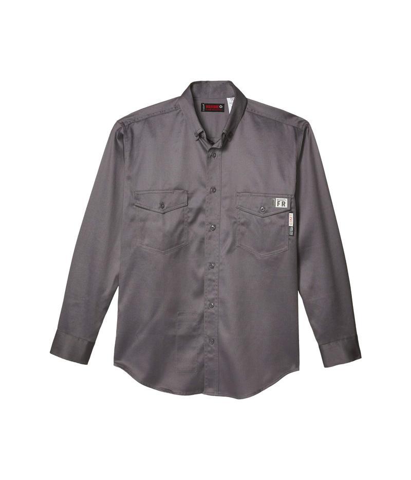 ウルヴァリン メンズ シャツ トップス FR (Flame Resistant) Twill Shirt Lead