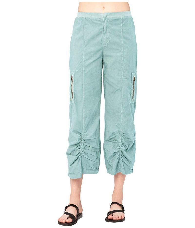 エックスシーブイアイ レディース カジュアルパンツ ボトムス Cavan Crop Pants in Stretch Poplin Quell Pigment