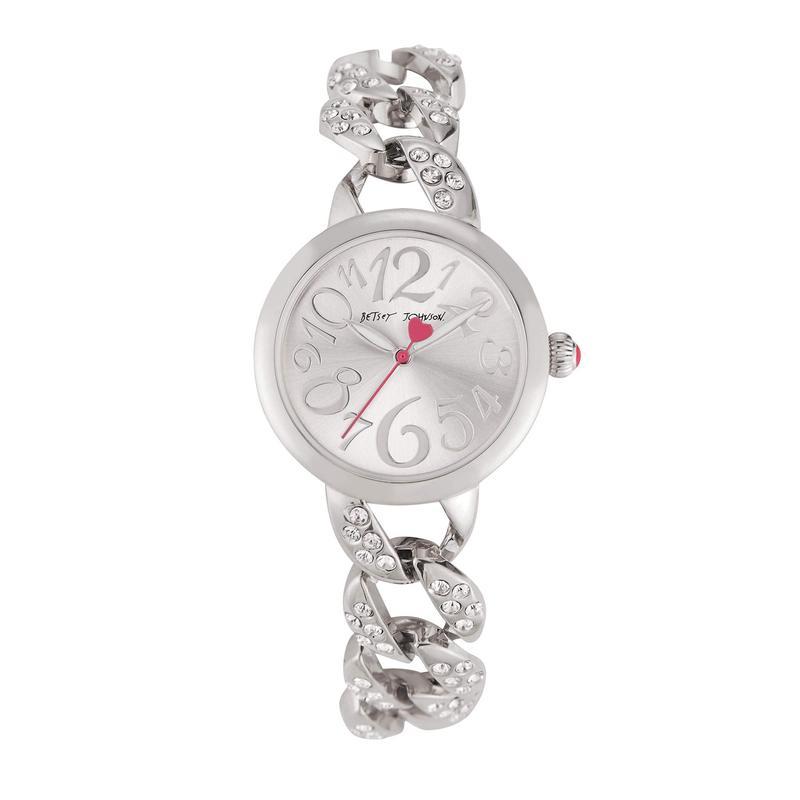 ベッツィジョンソン レディース 腕時計 アクセサリー Little Links Watch Silver