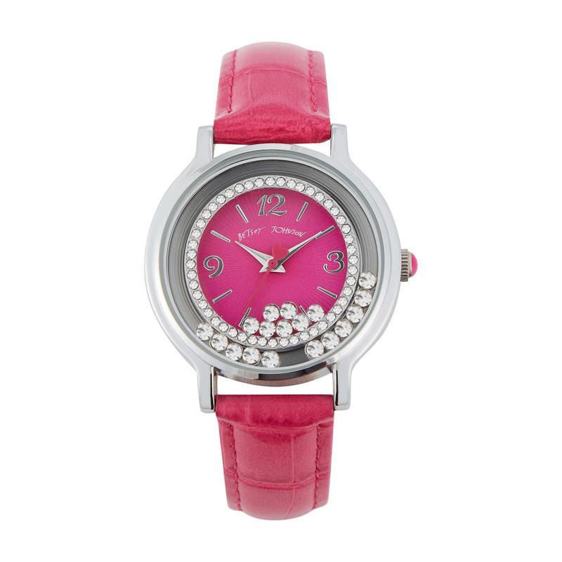 ベッツィジョンソン レディース 腕時計 アクセサリー Moving Crystals Watch Silver