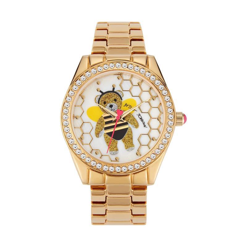ベッツィジョンソン レディース 腕時計 アクセサリー Buzzing Around Watch Gold