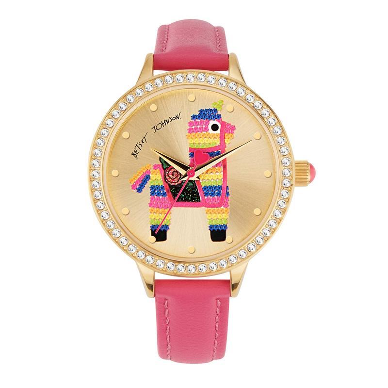 ベッツィジョンソン レディース 腕時計 アクセサリー Pinata Surprise Watch Gold