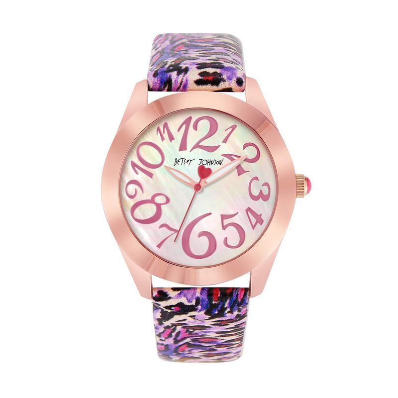 ベッツィジョンソン レディース 腕時計 アクセサリー Wild Betsey Watch Pink