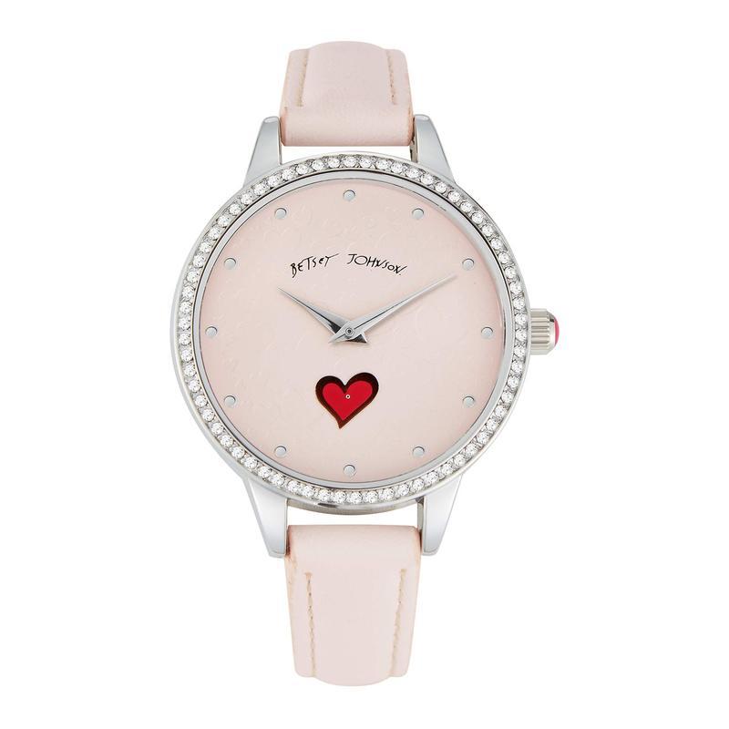 ベッツィジョンソン レディース 腕時計 アクセサリー Sweeping Icons Watch Pink
