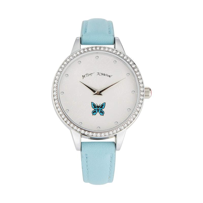 ベッツィジョンソン レディース 腕時計 アクセサリー Sweeping Icons Watch Blue