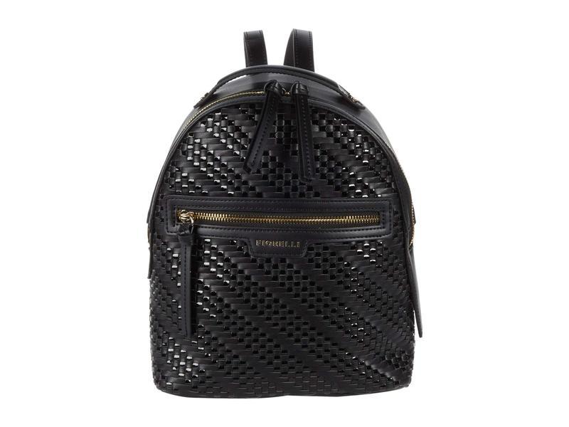 フィオレリ レディース バックパック・リュックサック バッグ Anouk Backpack Black Weave