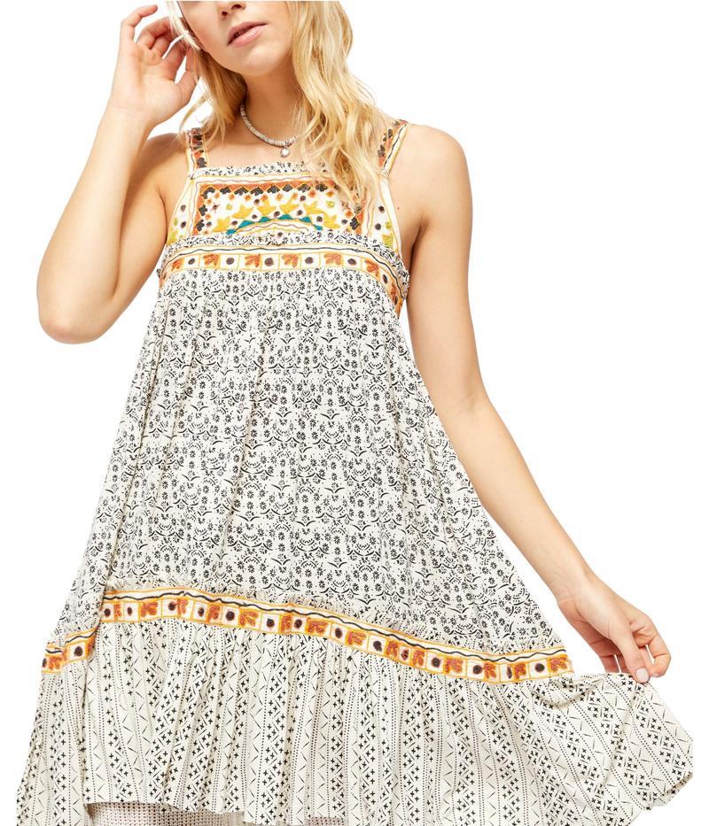 フリーピープル レディース ワンピース トップス Boarderline Dress Ivory