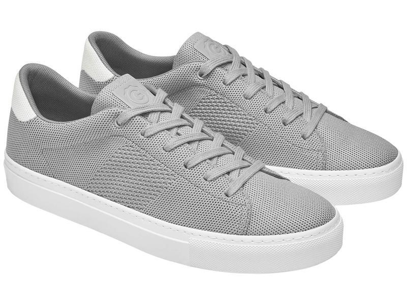 グレイツ メンズ スニーカー シューズ Royale Knit Grey/White