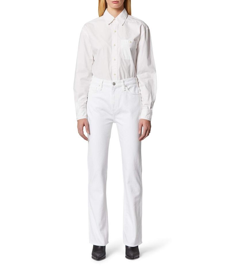 ハドソンジーンズ レディース デニムパンツ ボトムス Abbey High-Rise Bootcut Jeans in White White