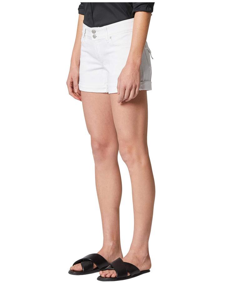 ハドソンジーンズ レディース ハーフパンツ・ショーツ ボトムス Croxley Cuffed Shorts in White White