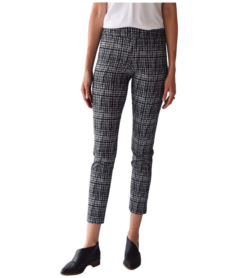 クレイジーラリー レディース カジュアルパンツ ボトムス Pull-On Ankle Pants Black Bars