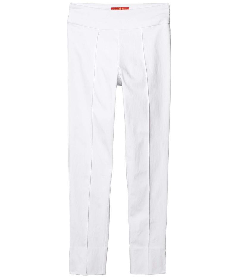 クレイジーラリー レディース カジュアルパンツ ボトムス Pull-On Seamed Skinny Ankle Pants White