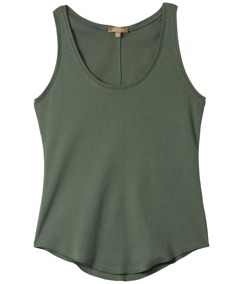 リラピー レディース シャツ トップス Modern Classics Scoop Neck Tank in 100% Cotton Mineral