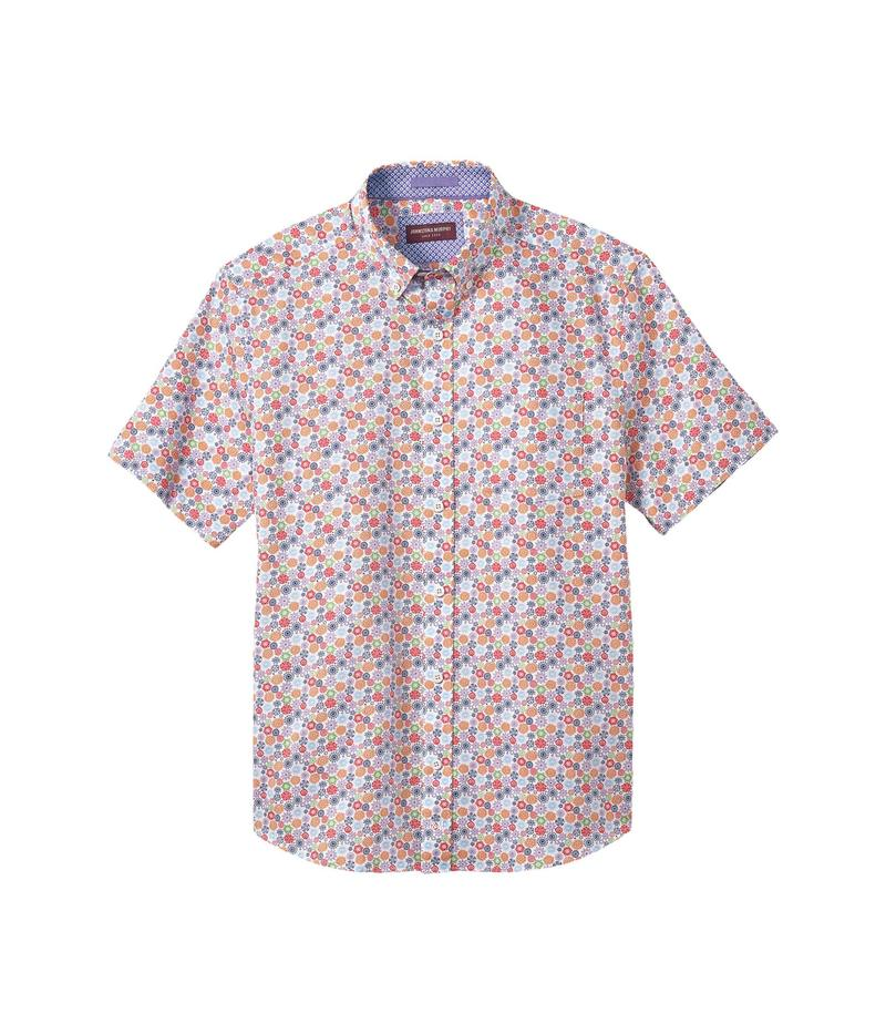 ジョンストンアンドマーフィー メンズ シャツ トップス Short Sleeve Flower Multi