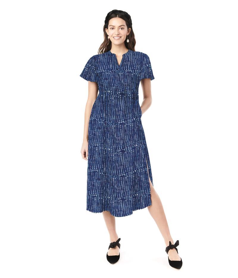 ロイヤル ハナ レディース ワンピース トップス Lily Maternity Dress Blue Box