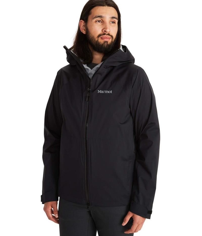 マーモット メンズ コート アウター PreCip Stretch Jacket Black